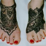 Tattoo design for Feet