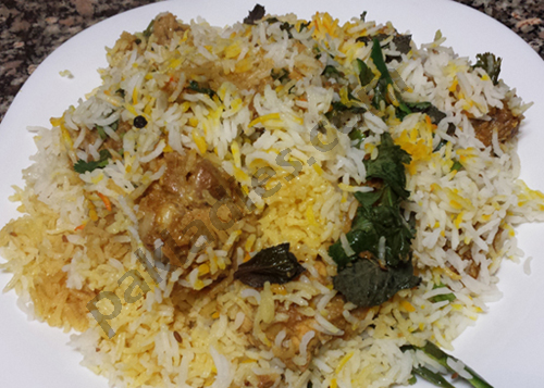 nawabi chicken biryani