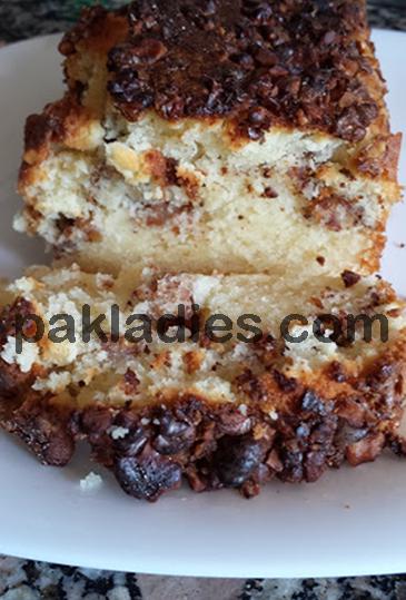 walnut cake with sour cream