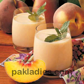peach smoothie with yogurt recipe